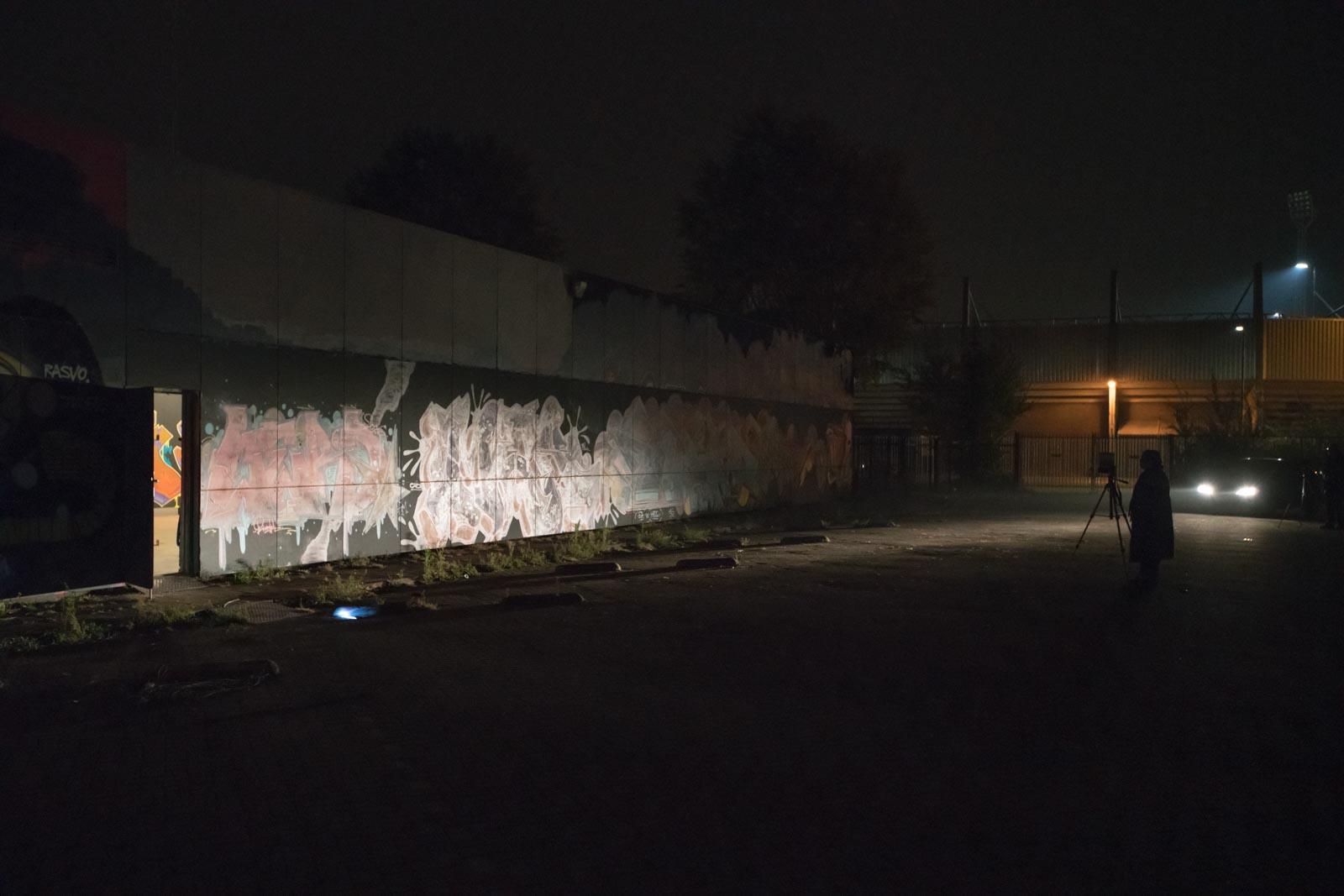 Workshop nachtfotografie aan de buitenzijde van The Loods