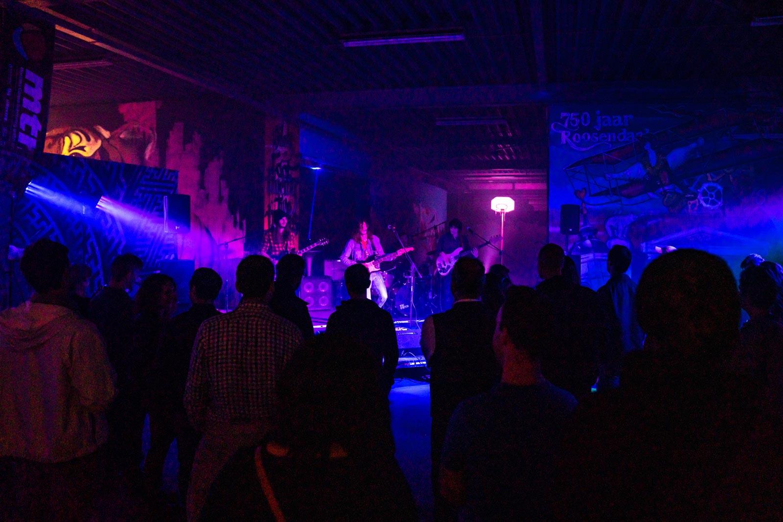 Optreden van PsySo bij Roosendaal Underground